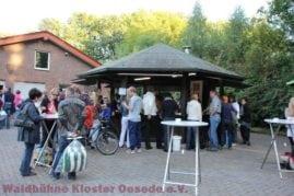 """Die vom Sportverein """"VfL Kloster Oesede"""" bewirtschaftete Grillbude"""