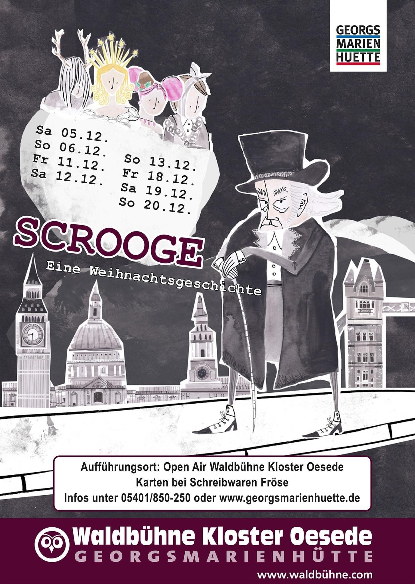"""Wintermärchen """"Scrooge"""" auf der Waldbühne"""